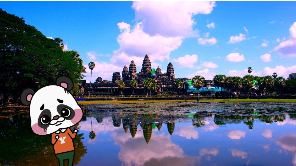 ユキオ カンボジアの景色