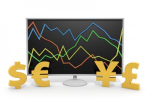 外貨預金の為替変動イメージ